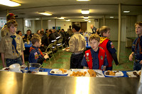 Troop 198 Pancake Breakfast for Police and Firefighters - 2013-02-03